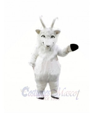 Plush White Goat Mascot Costumes