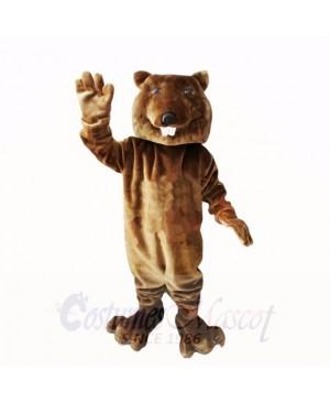 Friendly Brown Lightweight Beaver Mascot Costumes Cheap