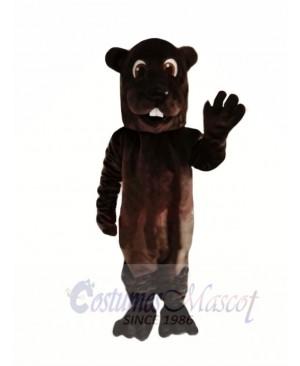 Brown Adult Beaver Mascot Costumes Animal