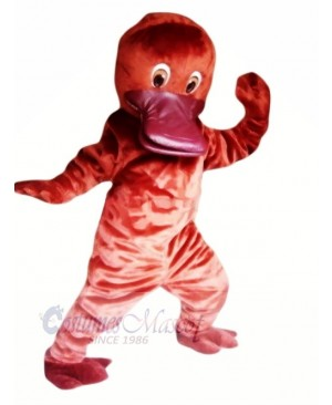Cute Red Platypus Mascot Costumes Cheap