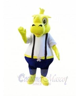 Yellow Rhino Mascot Costumes