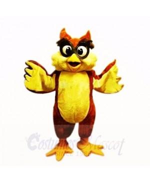 Friendly Lightweight Owl with Big Eyes Mascot Costumes School