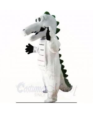 Grey Crocodile Mascot Costumes Adult