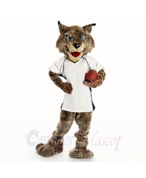 Sport Bobcats with White Shirt Mascot Costumes college