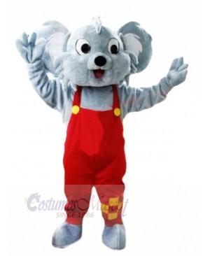 Happy Grey Koala Mascot Costumes Cheap