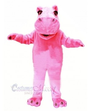 Pink Lightweight Hippo Mascot Costumes Cheap