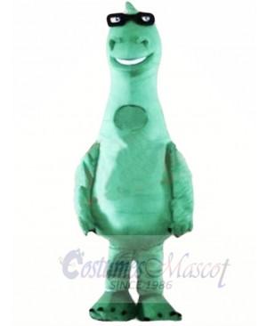 Cute Lightweight Green Dinosaur Mascot Costumes