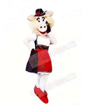 Fashionable Pig Mascot Costumes