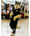 High Quality Police Wolf Mascot Costume