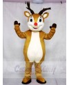 New Red Nose Rudolph Reindeer Mascot Costumes