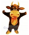 Happy Bull Mascot Costumes Cartoon