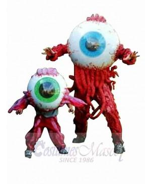 Bloody Eyeball Mascot Costume