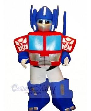 High Quality Blue Robot Mascot Costumes Cartoon