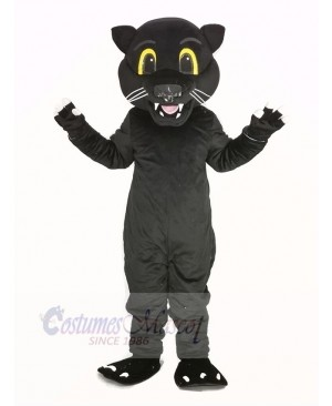 Black Panther Leopard Mascot Costume Animal