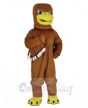 Fierce Brown Eagle Mascot Costume Animal