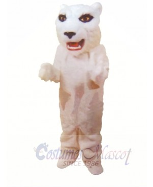 White Lightweight Tiger Mascot Costumes
