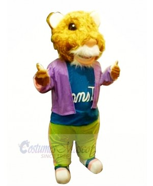Cool Lovely Hamster Mascot Costume Cartoon