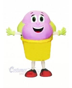 Cute Ice Cream Mascot Costume Cartoon
