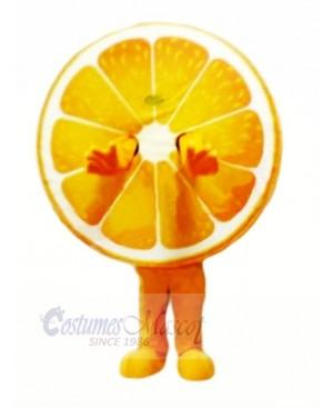 Juicy Orange Mascot Costume Cartoon