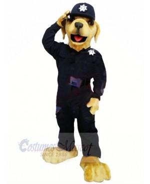 Best Quality Police Dog Mascot Costume Cartoon