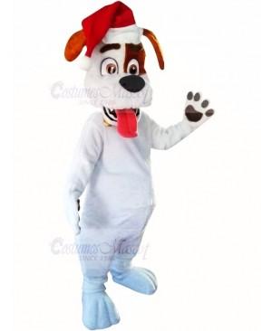 Christmas Puppy Dog Mascot Costume Cartoon