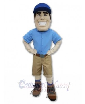 Pilot Pete Mascot Costume People
