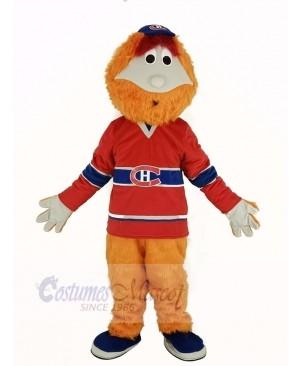 Montreal Canadians Mascot Costume Ice Hockey