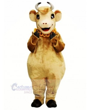 Female Brown Cow Mascot Costumes
