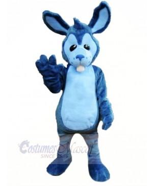 High Quality Blue Rabbit Mascot Costumes Cartoon