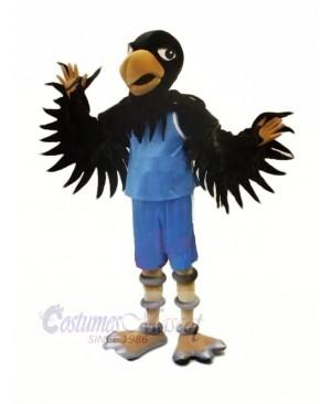 High Quality Black Hawk Mascot Costumes Adult