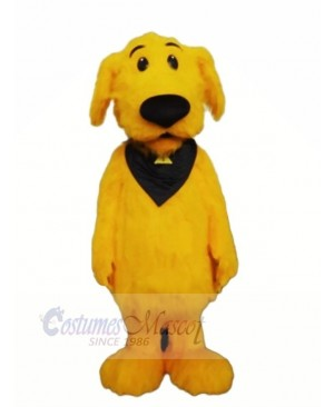 Lightweight Yellow Dog Mascot Costumes Cartoon